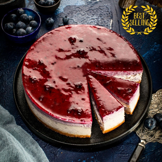 Blueberry Cheesecake - Once in the Blue Moon | Cat & the Fiddle Malaysia-Birthday-Cheesecake-Delivery