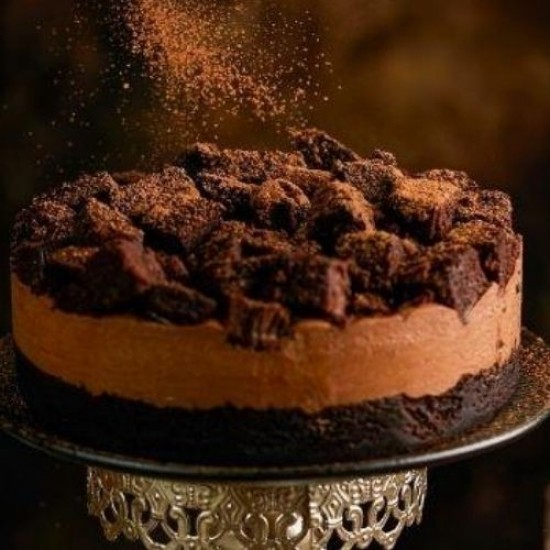 Devil's Chocolate Cheesecake - Naughty and Nice | Cat & the Fiddle-Birthday-Cheesecake-Delivery