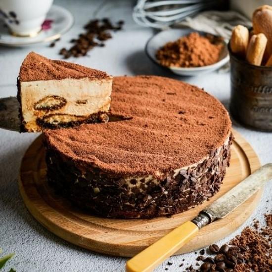 Best Tiramisu Cheesecake | Tiramisu Cake Singapore | Cat & the Fiddle-Birthday-Cheesecake-Delivery