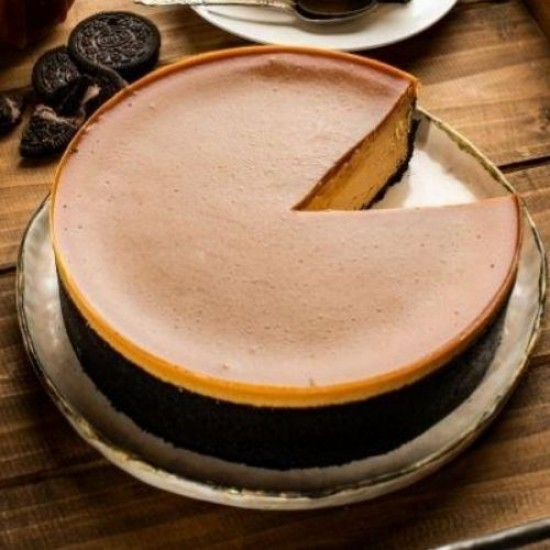 Salted Caramel Cheesecake | Cat & the Fiddle-Birthday-Cheesecake-Delivery