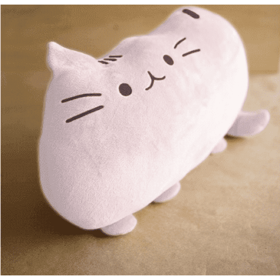 Cat Cushion (Pink) - Gifts & Flower | Cat & the Fiddle-Birthday-Cheesecake-Delivery