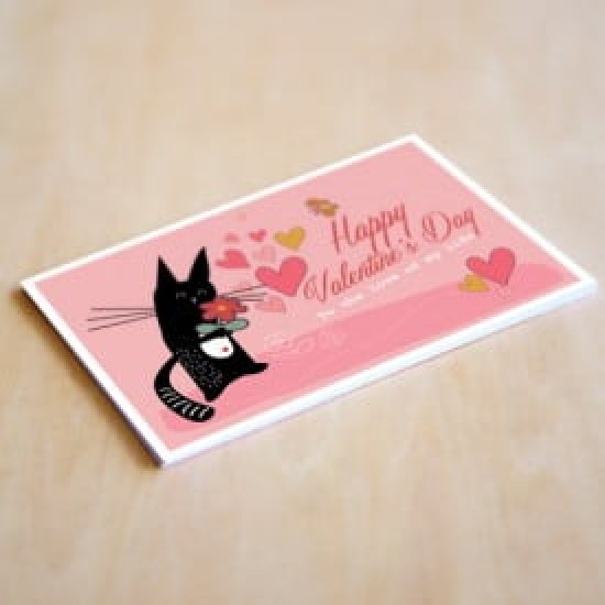 'Valentines - Love of My Life' Personalised Card | Cat & the Fiddle-Birthday-Cheesecake-Delivery