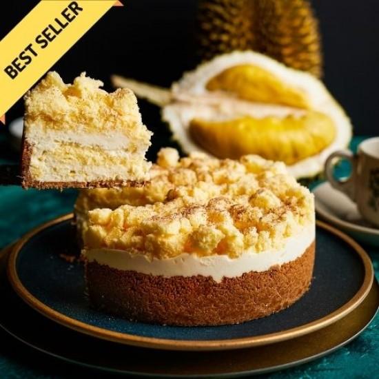 Best Durian Cheesecake (Mao Shan Wang) | Durian Birthday Cake | Cat & the Fiddle-Birthday-Cheesecake-Delivery