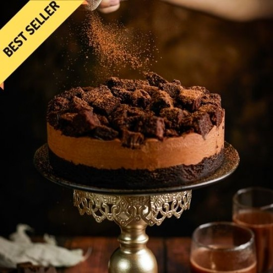 Devil's Chocolate Cheesecake - Naughty and Nice   Cat & the Fiddle-Birthday-Cheesecake-Delivery
