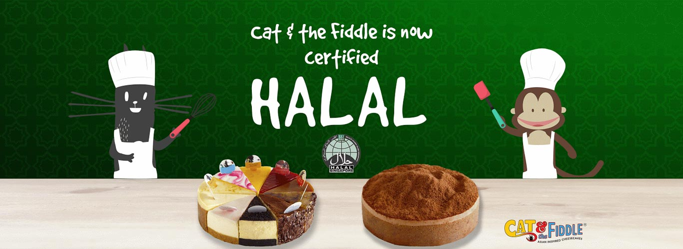 We are certified Halal!